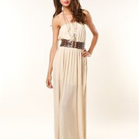 A'GACI Broomstick Belted Maxi - Best Sellers