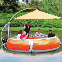 Barbecue Dining Boat