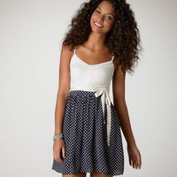 AE Stars & Lace Dress | American Eagle Outfitters