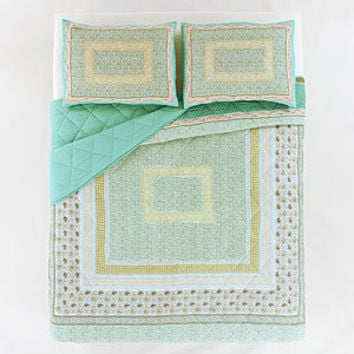 Teal Neelam Bedding Collection