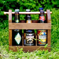 Home Brew Six Pack Carriers QTY 8  - 8 Beer Bottle Carriers - Bottle Opener -Free Shipping & Discount - Gift Idea -Groomsmen Gift