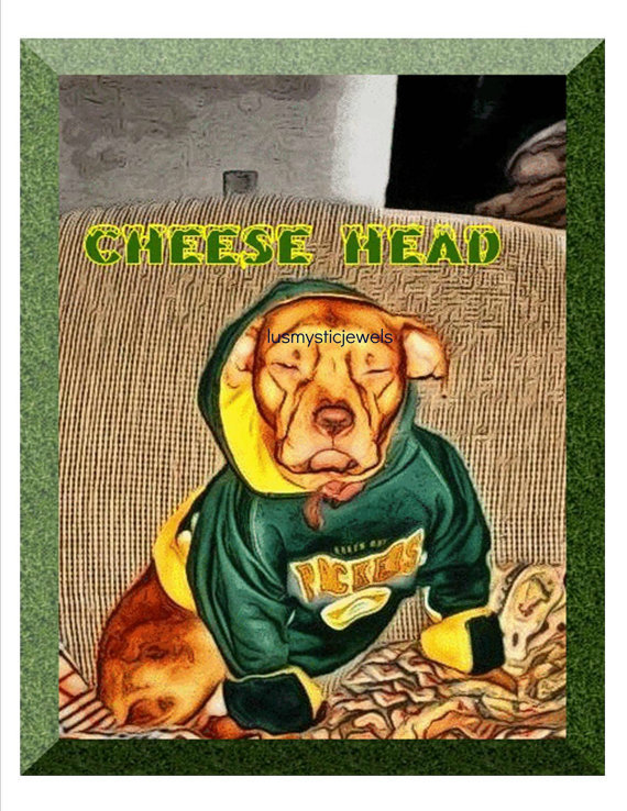 Christmas in July Digital Print CheeseHead in July CIJ