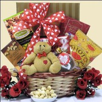 Nuts About You!: Valentine`s Day Gift Basket