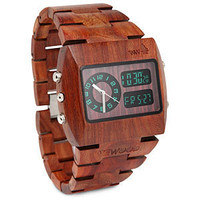 ThinkGeek :: WeWood Chrono Watch
