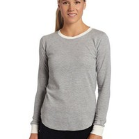 Cuddl Duds Women`s Thermal Long Sleeve Crew Neck Top