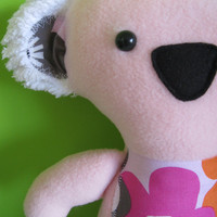 Plush Koala in Pink, looking for a home with lots of trees