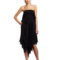 HALSTON HERITAGE Women`s Handkerchief Dress