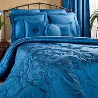 Medallion Ocean Grand Suite Bedding Set | Atlantic Linens
