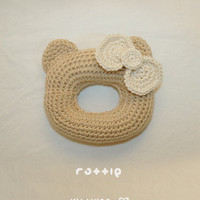 Baby Rattle Grab Toy Crochet PATTERN, SYMBOL DIAGRAM (pdf)