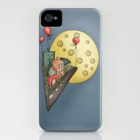 Moon city iPhone Case by Carina Povarchik | Society6
