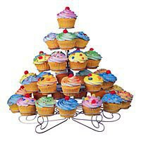 Cupcakes 'N More Dessert Stand - Kitchen Krafts, 800-776-0575