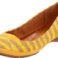 Naya Women`s River Ballet Flat,Yellow,11 W US