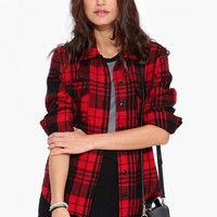 Naomi Plaid Shirt