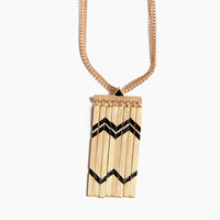 Broken Bars Pattern Necklace
