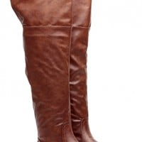 Year Round Essence Chestnut Knee High Boots @ Cicihot Boots Catalog:women's winter boots,leather thigh high boots,black platform knee high boots,over the knee boots,Go Go boots,cowgirl boots,gladiator boots,womens dress boots,skirt boots.