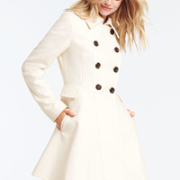 Wool Fit-and-Flare Coat - Victoria's Secret