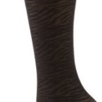Steve Madden Legwear Women`s 3 Pack Animal Texture Trouser Socks
