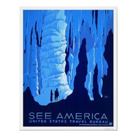 See America US Travel Bureau WPA Posters from Zazzle.com