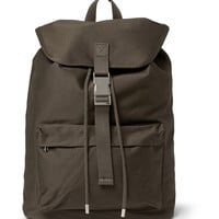 A.P.C. - Cotton-Canvas Backpack | MR PORTER