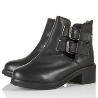 Topshop - ADONIS2 Cut Out Heavy Boots customer reviews - product reviews - read top consumer ratings
