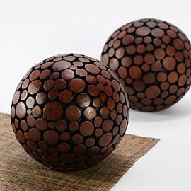 Oslo Sphere - Brown | Z Gallerie