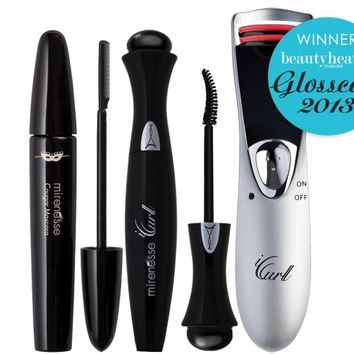 *SP Best Seller- Cougar + iCurl Lash Curling Kit - Winner Best Makeup Tool - Mirenesse