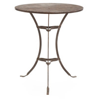 Rusted Iron Bistro Table | Garden Furniture | Wisteria