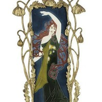Art Nouveau Ceramics by Carl Sigfrid Luber ((1863-1934)
