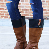 Block It Riding Boots | Tall Boots at Pink Ice