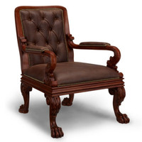 New Safari Library Chair - Furniture - Products - Products - Ralph Lauren Home - RalphLaurenHome.com