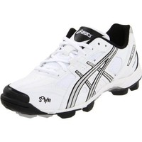 ASICS Women`s GEL-V Cut Field Shoe,White/Silver/Black,8 M