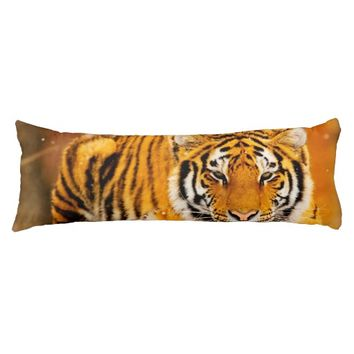 Siberian Tiger Body Pillow