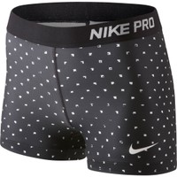 Nike Women's Pro Core 3'' Printed Compression Shorts - Dick's Sporting Goods