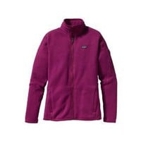 New Patagonia Better Sweater Magenta M Womens Jacket