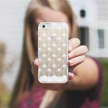 White Palm Trees iPhone 5s case by Orna Artzi | Casetify