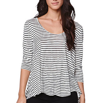 Volcom Soft Free Long Sleeve Top - Womens Tee - Black