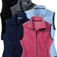 Port Authority Ladies R-Tek Fleece Vest (LP79) Available in 8 Colors X-Large Navy