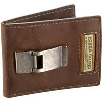 Fossil Roberts Bi-Fold Wallet,Brown,one size