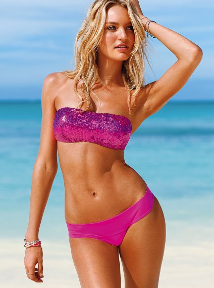 Sequin Bandeau Top - Beach Sexy - Victoria&#x27;s Secret