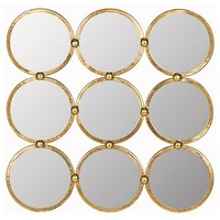 Ainsworth Wall Mirror, Gold