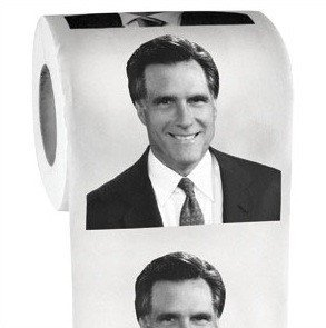 Mitt Romney Toilet Paper - Whimsical & Unique Gift Ideas for the Coolest Gift Givers