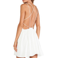 keepsake More Than This Mini Dress in Ivory