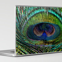 Peacock Dreams Laptop & iPad Skin by Steve Purnell | Society6