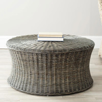 Murad Rattan Coffee Table