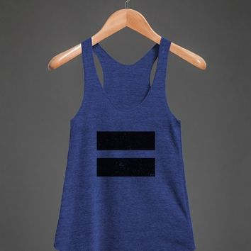 Athletic Grey Tank | Gay Pride Shirts