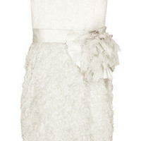 Lanvin | Silk bustier dress | NET-A-PORTER.COM