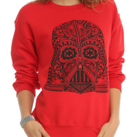 Star Wars Day Of The Dead Darth Vader Girls Pullover