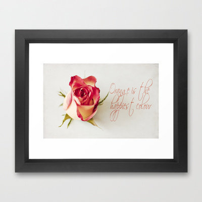 Warm Happiness  Framed Art Print by secretgardenphotography [Nicola] | Society6