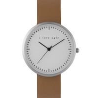 i love ugly. Chestnut Classic Watch | HYPEBEAST Store. Shop Online for Men's Fashion, Streetwear, Sneakers, Accessories
