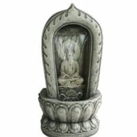 Garden Statue | Grand Buddha Meditation Fountain